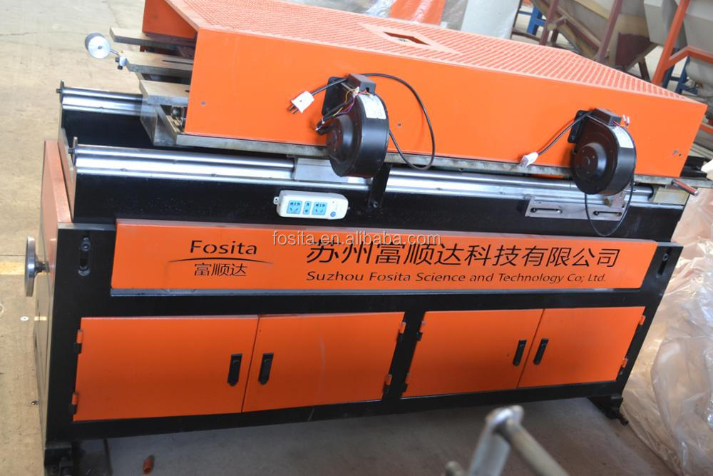 HDPE/PP high speed corrugated pipe machine water cooling