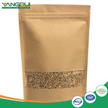 good quality gold seller stand up kraft paper coffee zipper packaging bag with valve and window
