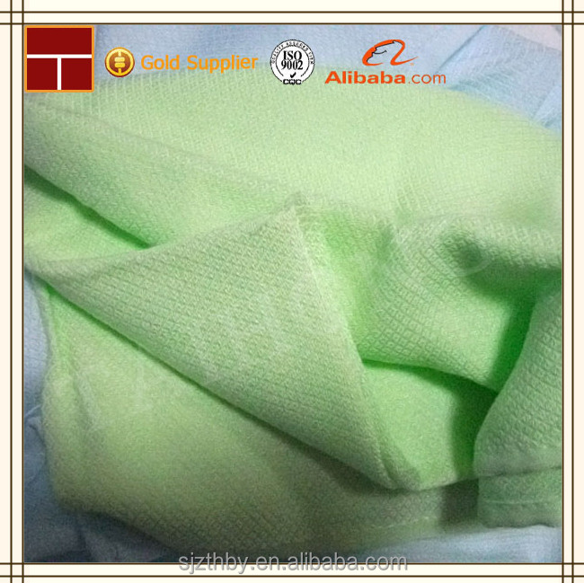 China dyed bamboo muslin fabric supplier