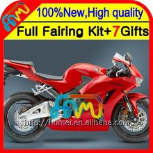 Body For HONDA ALL Red CBR600RR 13-14 CBR600 RR F5 28CL5 CBR 600RR 600 RR Stock Glossy red 13 14 2013 2014 Injection Fairing