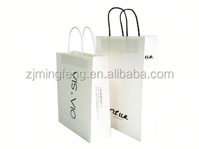 Paper Bag with handle shopping bag italy paper bag