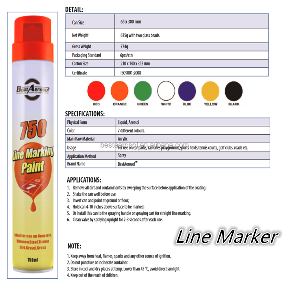 Reflective Thermoplastic Road Line Marking Paint
