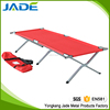 Outdoor folding backrest adjustable camping bed with pillow