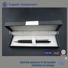 black anodized aluminum pen
