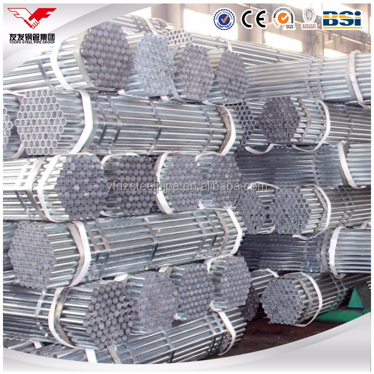 Galvanized Scaffolding Pipe Steel Pipes/tubes/gi Conduit Various Sizes
