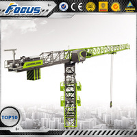 T5510-6 2016 Zoomlion New design high quality Fixed china topkit tower cranes