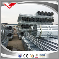 ASTM A53 B hot dipped galvanized steel pipe , GI pipes 4 inch astm a53 galvanized steel pipe tube