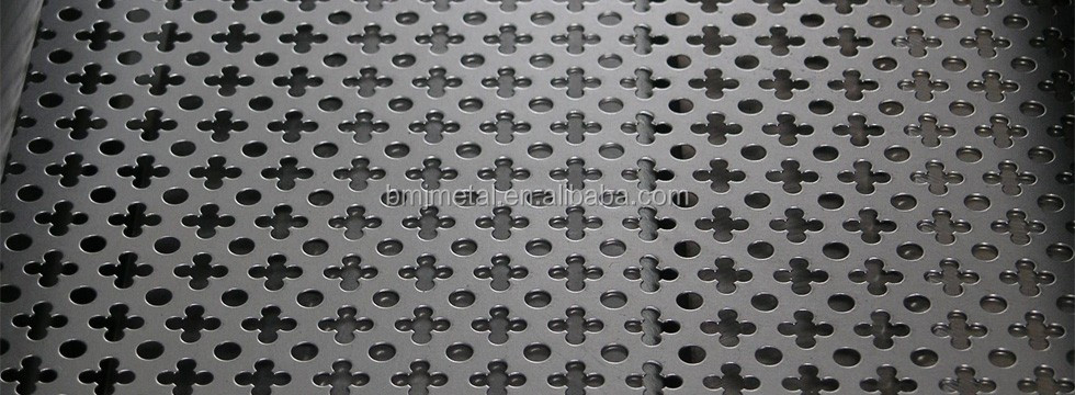 Factory Direct Supply Decorative Perforated Metal Screen Sheets