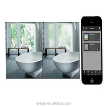Switchable opaque to transparent smart window film / PDLC new privacy smart glass film