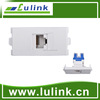 Network Cat6 connector module faceplate, wall socket
