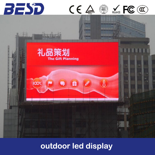 Shenzhen factory oudoor SMD p6 led ,full color led rental RGB led billboard