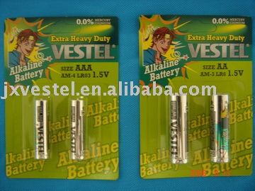 super alkaline battery