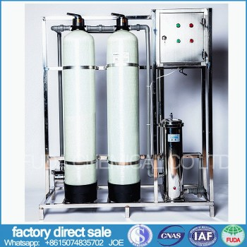 water treatment equipment 500KG per hour water purified system