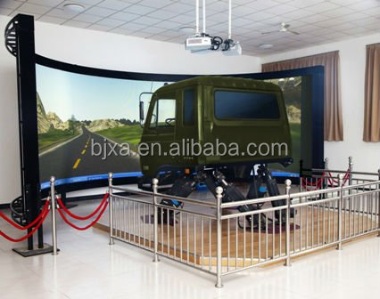 Motion platform driving simulator truck version