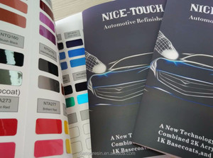 1K Basecoat Pearl Metallic car auto paint refinish
