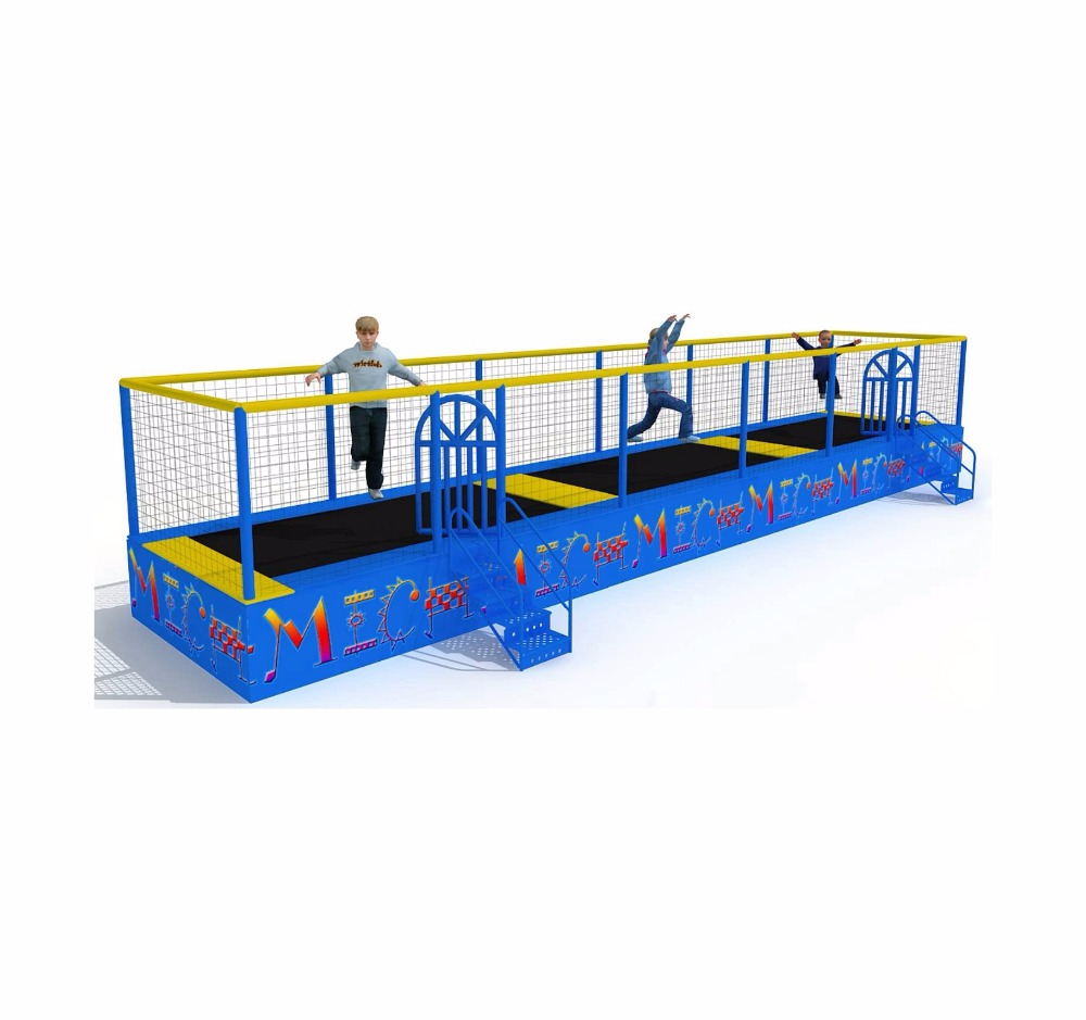 Factory Direct Cheap Commercial Mini 13*2.6*2.5m Trampolines For Sale Cheap
