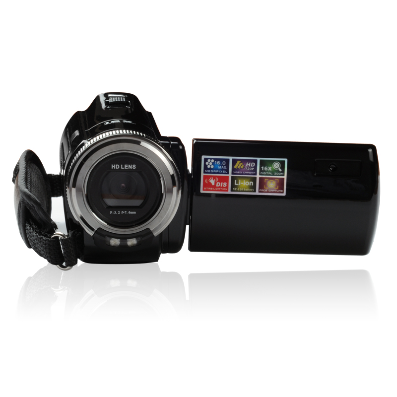 Shenzhen factory camcorder 720P cheap camera hd video zoom camera digital video camera