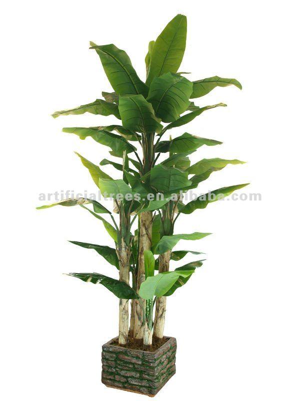 Re artificiale albero di banane artificiale pianta for Albero di banane