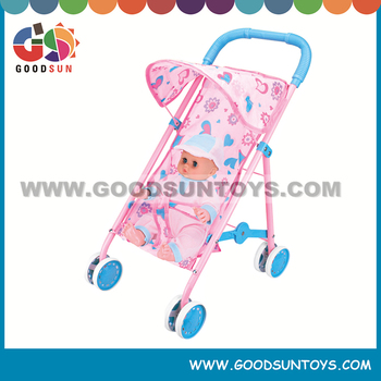 High quality pram doll strollers,doll carriage,baby carriage with doll