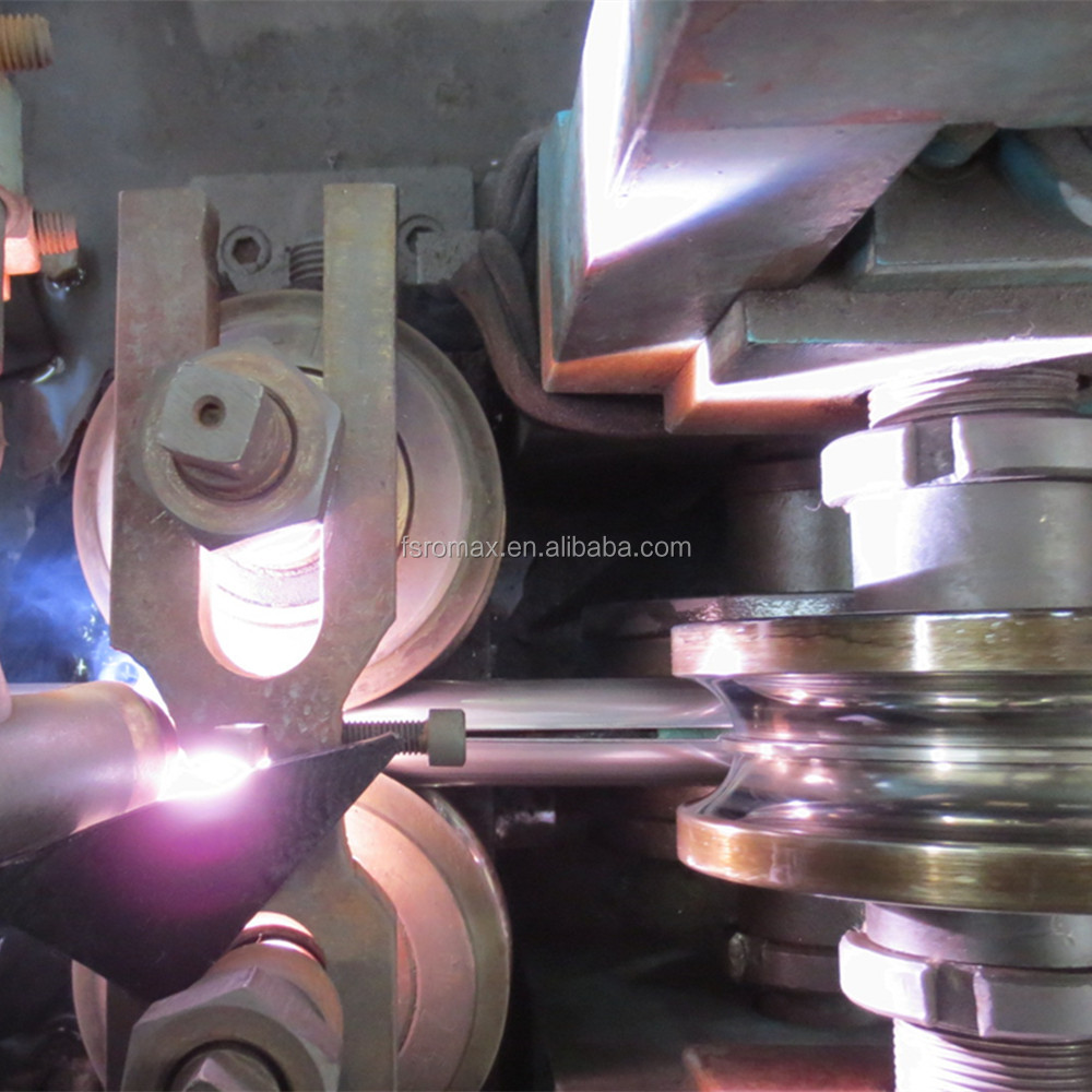 Stainless steel pipe making machine with tig welding machine second hand