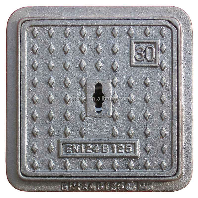 ductile iron manhole cover foundry