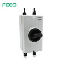 Outdoor Weatherproof Electric Single 3 Phase Industry 20a Double Pole Dual Battery DC Isolator Switch Disconnector