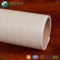 Eco-friendly pvc mdf wood self adhesive decorative foil sticker