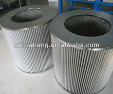 China supplies for large size air take filter,Pleated filter with diamond net,cartridge filter