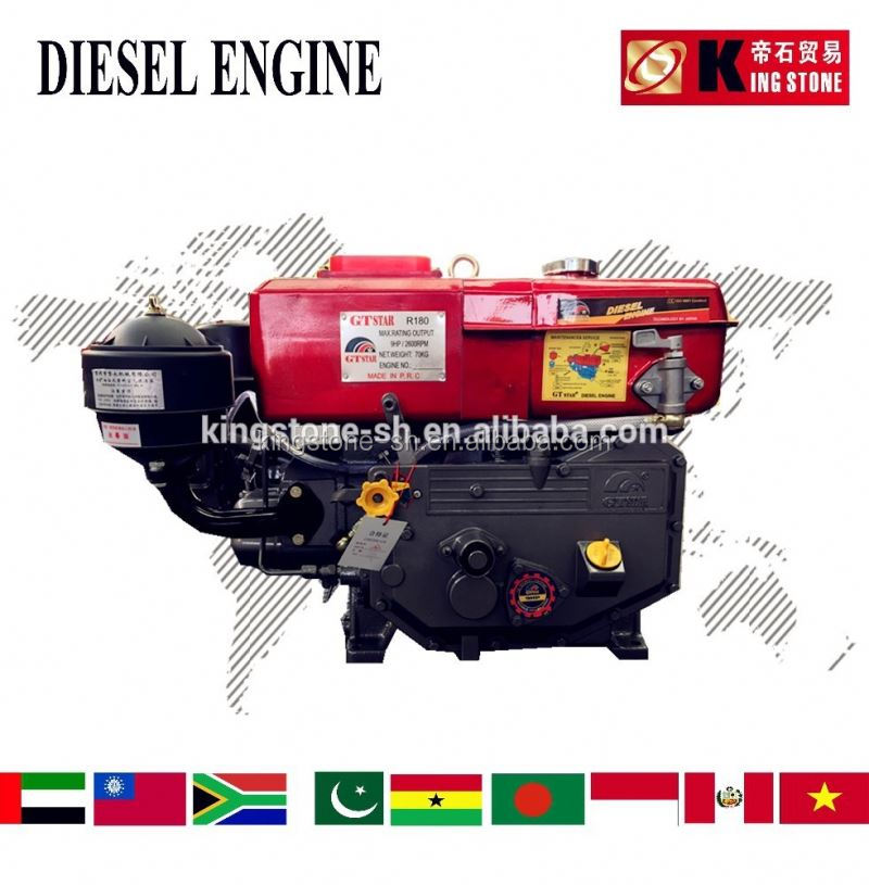 HIGH QUALITY R180 diesel engine water cooled