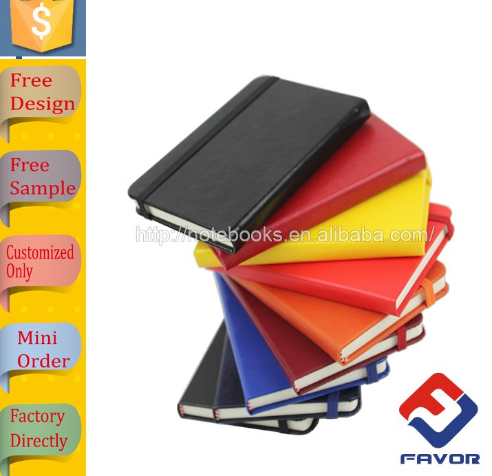 office and school stationery cheap custom a5 hardcover pu leather notebook