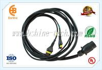 wire harness for agricultural machine light