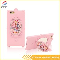 Newest arrival high quality phone cover with mirror for iphone 6/6s