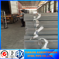 scaffolding structure galvanized steel pipe!galvanizing steel pipe screwed&socket