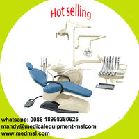 MSLDU12-M dental unit with top mounted tool tray