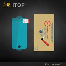 Itop Mobile Accessory Custom Ultra-Thin HD Clear TPU Full Cover Screen Protector For Iphone 6