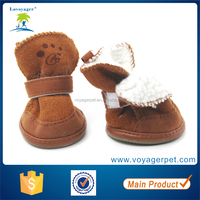 Lovoyager Anti-slip Sole Pet Shoe Dog Boots Rubber Sole for Winter