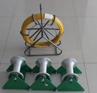 Cable Roller cable pulley block and track