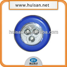 ultra bright 3 led push button light HS-0021
