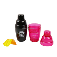2016 Promotive gift mini cocktail mixer shakers