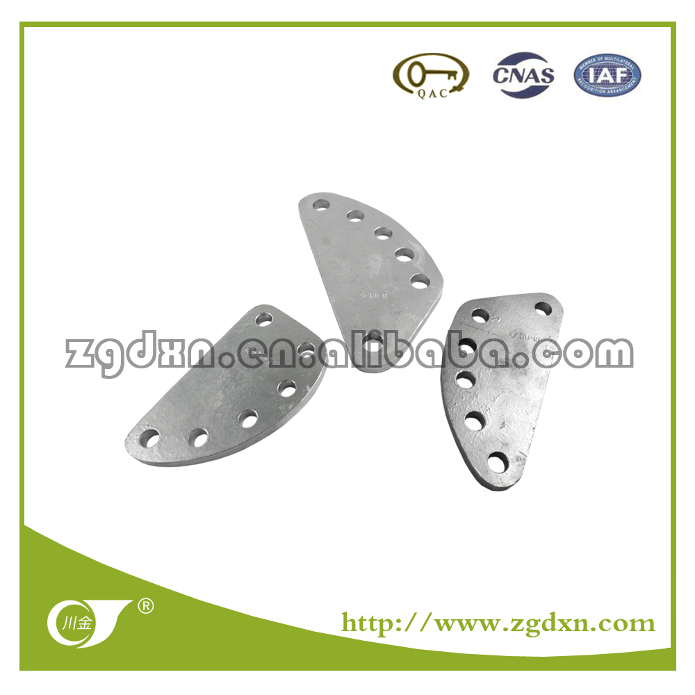 2017 DB Type Adjusting Galvanized Steel Yoke Plate for Transmission Line