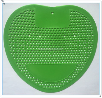 green cherry sport themed soccer urinal mat original with big ad area