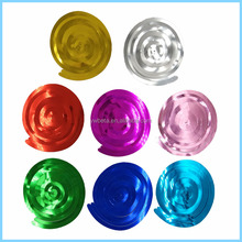 Wholesale Party Decoration Vivid Plastic Swirl Hanging Decoration