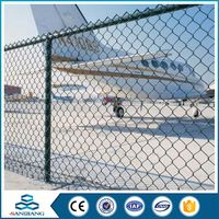 Fast Delivery anti-fence 6ft 9 gauge stainless steel chain link fence