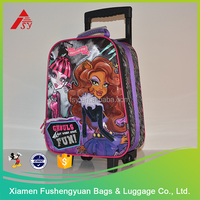 China Manufacture trolley bag kids luggage with wheels