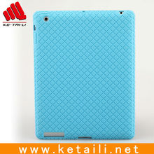 Cute silicon gel half shell case for ipad 3rd generation