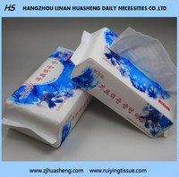 High Quality 100% Cotton Fabric For Tissue/face H253 Facial Tissue
