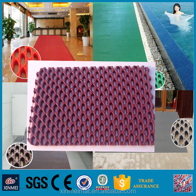 2016 xinmei clear plastic outdoor carpet cover protector