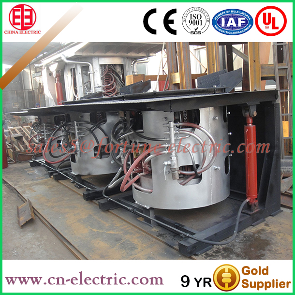 Stainless steel Medium frequency iron smelting oven