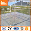 China factory produce classic galvanized outdoor metal dog kennel