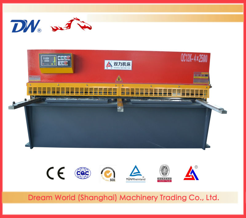 Power Shear , hydraulic plate shearing tooling , Shearing Machine For Sale